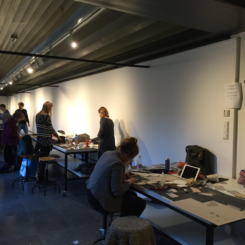 Atelier in de omloop van de Academie