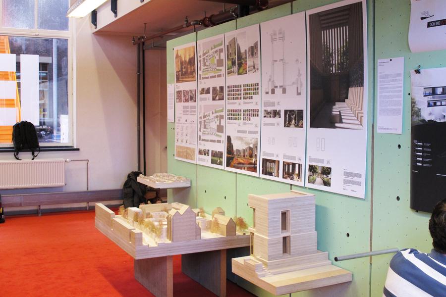 ExposExpositie Archiprix 2015, panelen en maquettes (beeld VANDERSALM-aim)itie Archiprix 2015 (beeld VANDERSALM-aim)